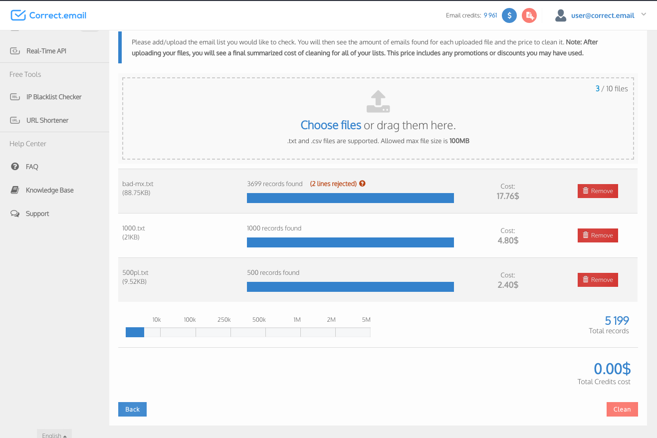 Email Checker - Clean your list  Focus on real customers